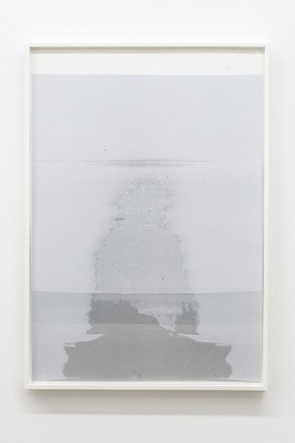 , 'Untitled (ghost, in the palest blue),' 2018, Galerie Nicolas Robert