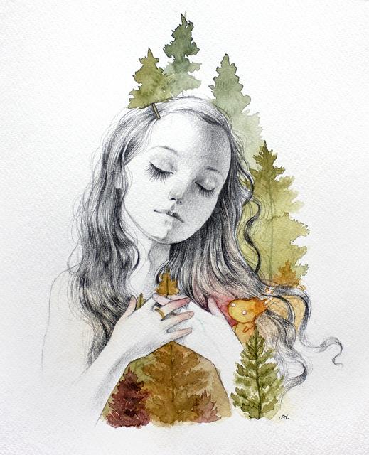 , 'Fire Spirit,' 2017, Flower Pepper Gallery