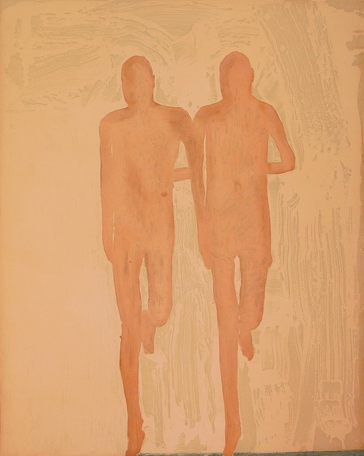 , 'The Twin Runners,' 2005, Crown Point Press