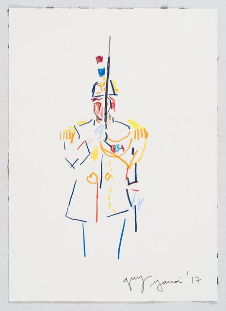 , 'French Soldat,' 2017, Flatland Gallery