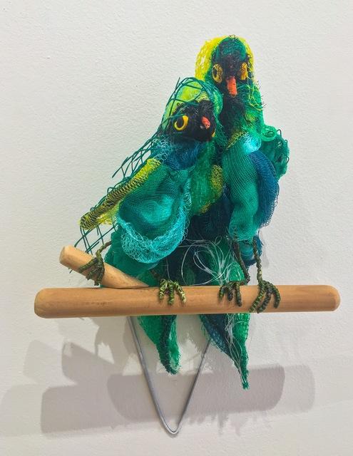 , 'Parrots after Frida Kahlo ca. 1937 ,' 2017, Cross Contemporary Art
