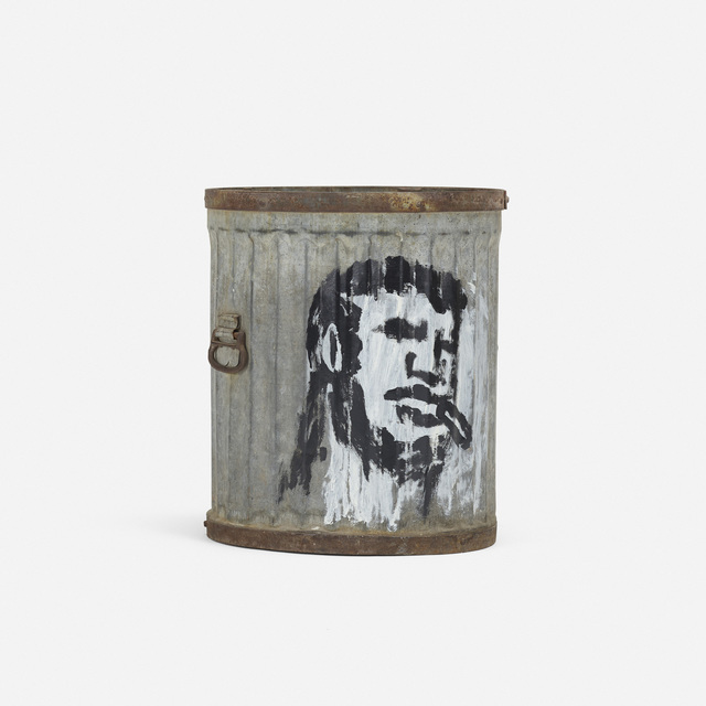 Robert Loughlin, 'Untitled (garbage can)', Wright