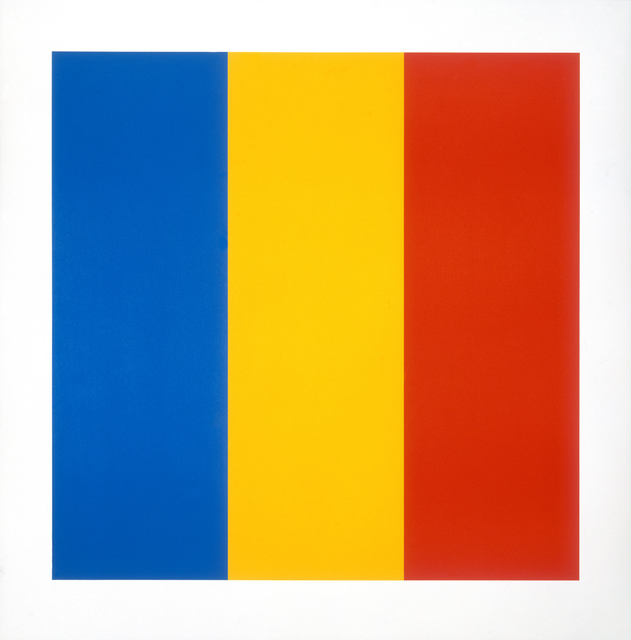 Ellsworth Kelly, 'Blue Yellow Red', 1991, Lougher Contemporary