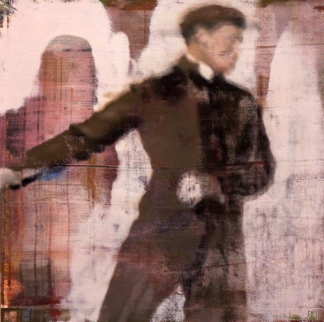 , 'Man Skating,' 2016, Julie Nester Gallery