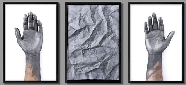 , 'Leer el pasado (triptych),' 2013, Galería Alfredo Ginocchio