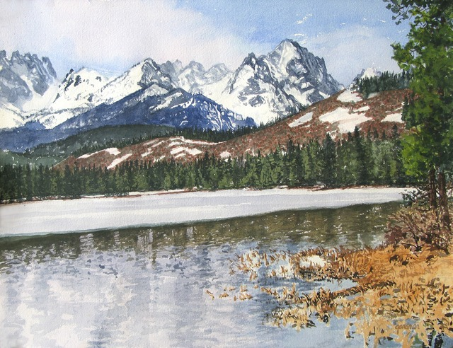 , 'Receding Winter - Red Fish Lake,' , Gail Severn Gallery