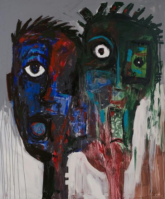 , 'Unknown Faces No. 2,' 2018, Nicholas Roman Fine Art