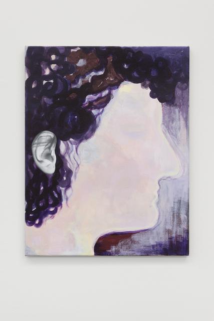, 'Ohrenbild 2,' 2018, Galerie Mehdi Chouakri