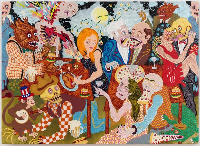 , 'Full Moon Picnic,' 2016, Joshua Liner Gallery