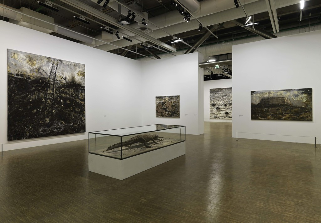 "Installation view of ""Anselm Kiefer"" at Centre Pompidou, Paris (2015-2016)"