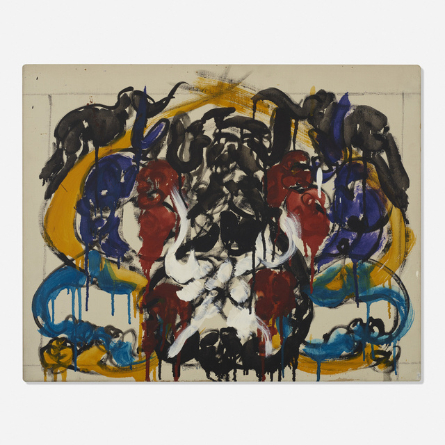 Norman Bluhm, 'Untitled', 1989, Wright
