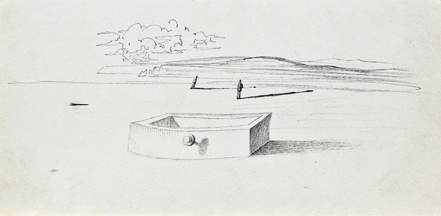 Salvador Dalí, 'Paysage (Illustration Pour Sécheresses)', 1936, Omer Tiroche Gallery
