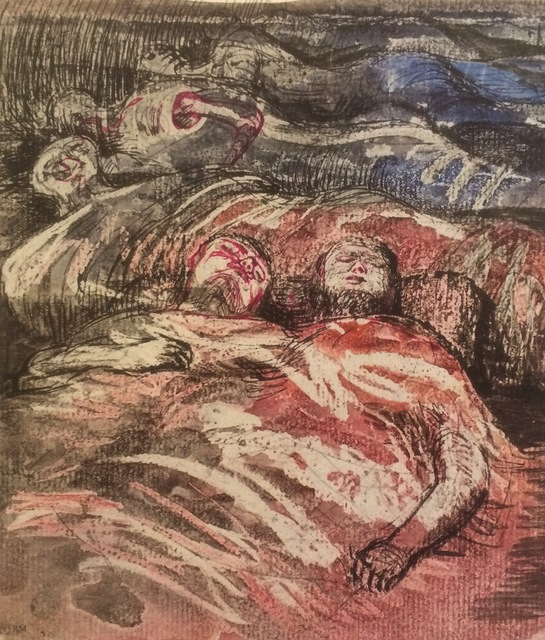Henry Moore, 'Untitled XXXIII (Shelter Sketchbook)', 1967, Eames Fine Art