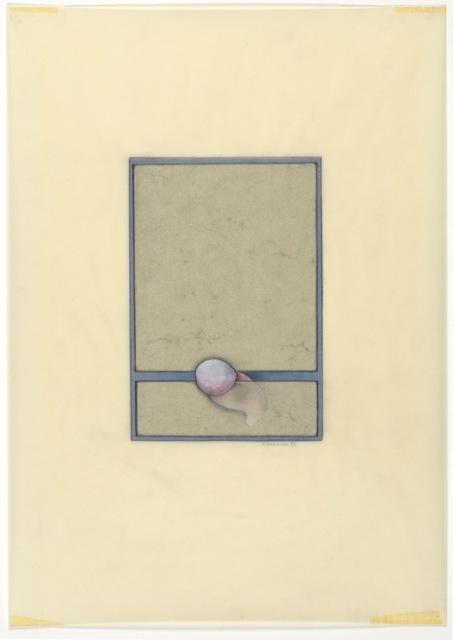 , 'Wurm Gequetscht [Worm Squeezed],' 1973, Richard Saltoun