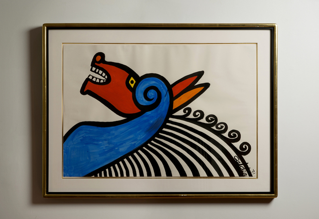 , 'Horse with Yellow Eye,' 1971, Wexler Gallery