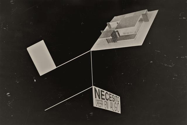 , 'Necesito creer en algo,' 2011, Spotte Art