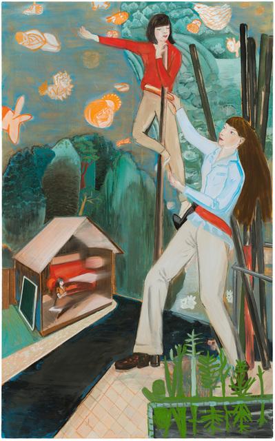 , 'Argonautinnen,' 2016, Galerie Kleindienst