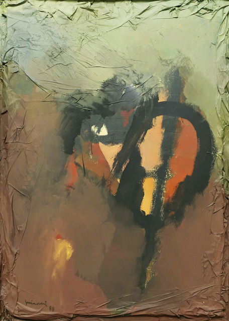 Josep Guinovart, 'L'ull i el dia', 1988, Galeria Jordi Pascual