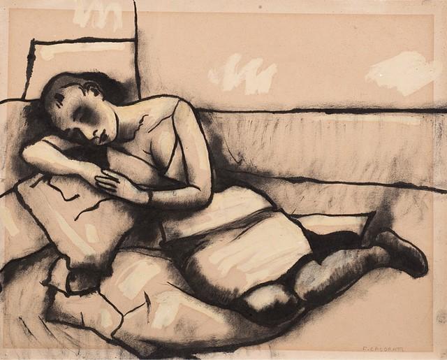 Felice Casorati, 'Untitled', 1959, Finarte