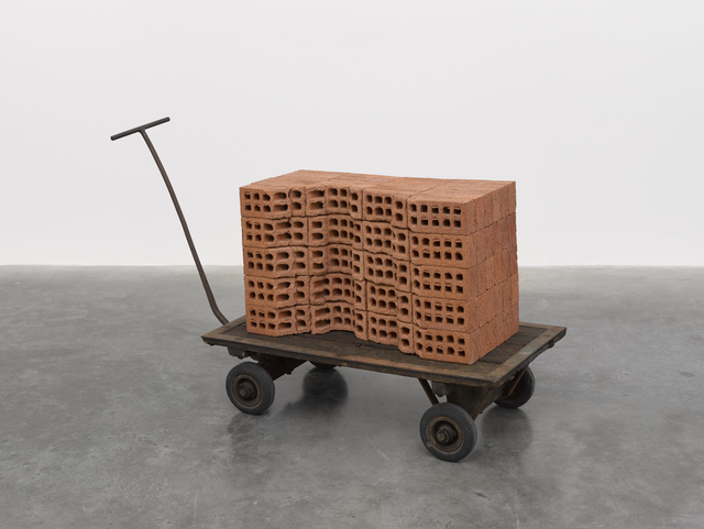 , 'A Pile of Bricks,' 2019, White Cube