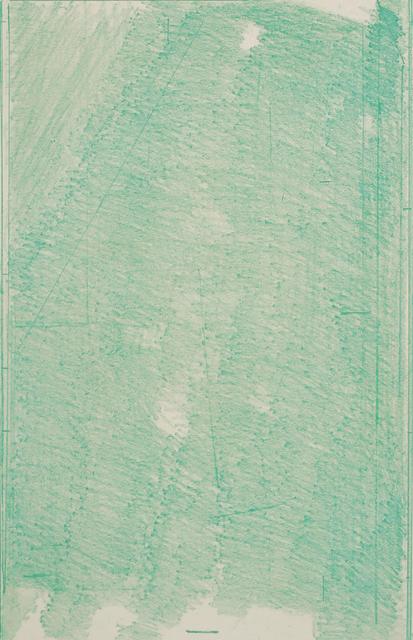 , 'Green Softground,' 2016, BERG Contemporary