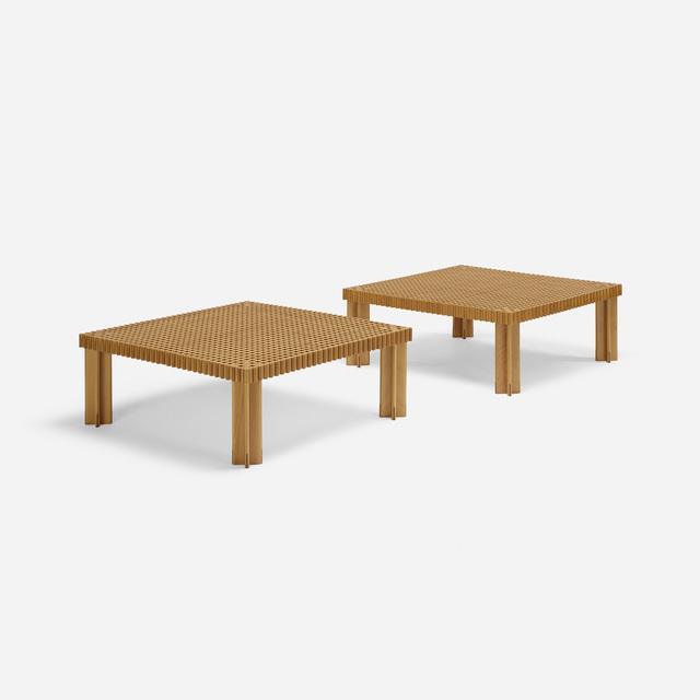 Gianfranco Frattini, 'Kyoto coffee tables, pair', 1974, Rago/Wright