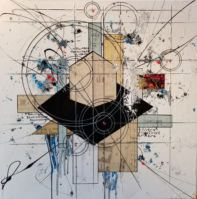 Étienne Gélinas, 'Composition 509', 2019, Painting, Mixed media on canvas, Thompson Landry Gallery