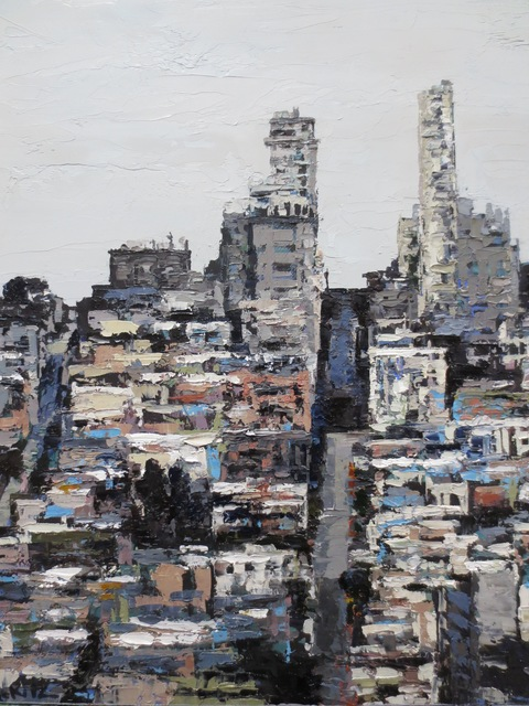 , 'Black and White Russian Hill Study,' 2018, Seager Gray Gallery