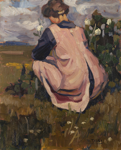 Mario Tozzi, 'Figura nel paesaggio', 1919, Il Ponte