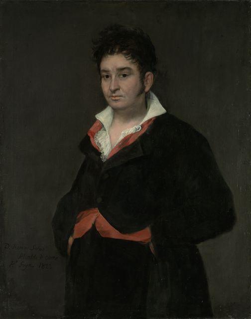 Francisco de Goya, 'Portrait of Don Ramón Satué', 1823, Rijksmuseum