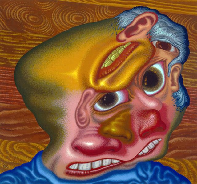 , 'Panic Attack in the Lumber Yard,' 2007, Gary Tatintsian Gallery