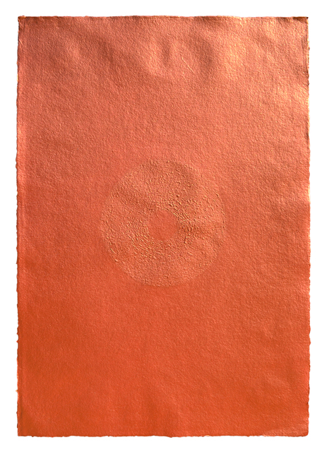 , 'Acrylic on Scratched Paper (Copper) ,' 2008, Aicon Gallery