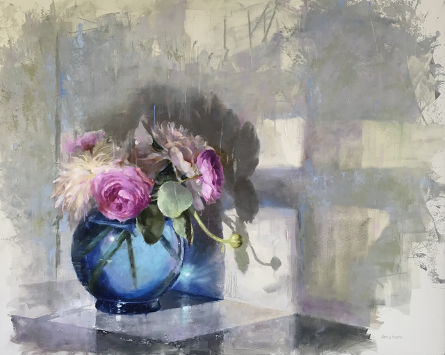 , 'Peonies in The Morning,' 2018, Meyer Vogl Gallery