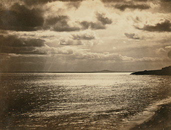 Gustave Le Gray, 'Mediterranean with Mount Agde,' 1857, Phillips: The Odyssey of Collecting