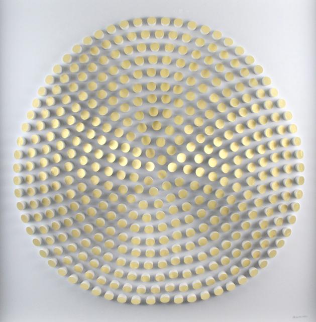 , 'White and Gold Rotations,' 2019, Gormleys Fine Art