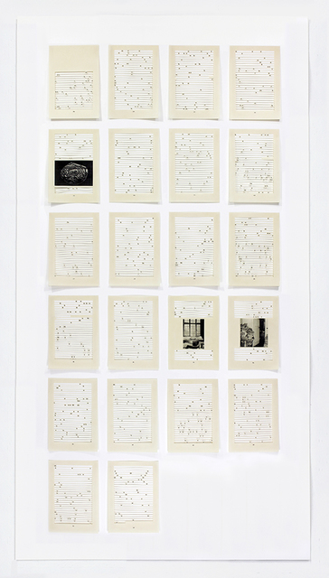 , 'Song for Sebald (Chapter 7),' 2016, LMAKgallery