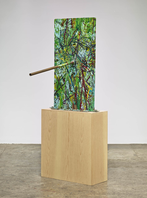 , 'Untitled (Scribble Scrabble, French Mask M31.b),' 2013, Nasher Sculpture Center