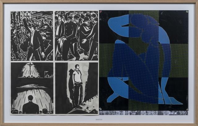 , '30. December 2018 (Masereel - Matisse),' 2018, Ani Molnár Gallery