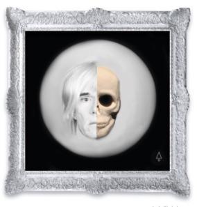 , 'Moon Warhol,' 2017, Galeria Casa Cuadrada
