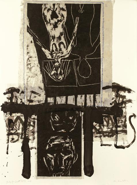 Marcus Rees Roberts, 'Snow Fell III', 2018, Print, Monotype, Pratt Contemporary