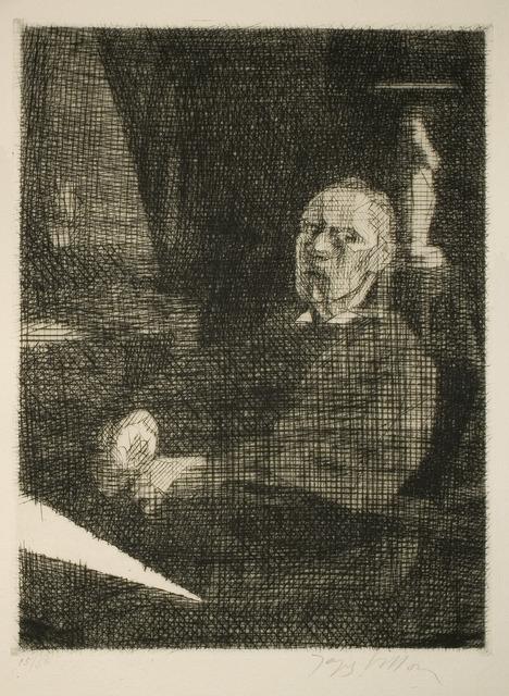 , 'Le grand Dessinateur assis (Self-Portrait),' 1935, R. S. Johnson Fine Art