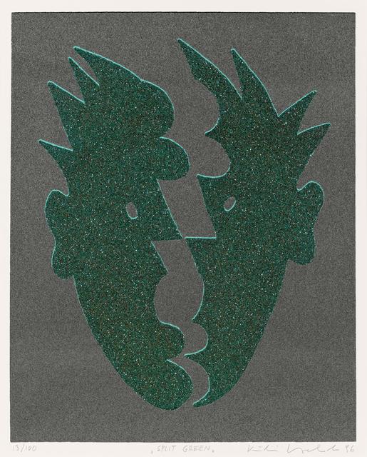 , 'Split Green,' 1996, Galerie Kovacek & Zetter