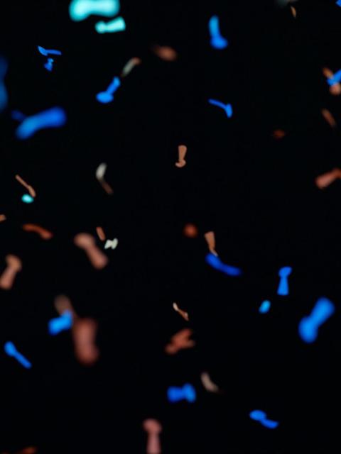 , 'Untitled (confetti #10),' 2012, Gagosian