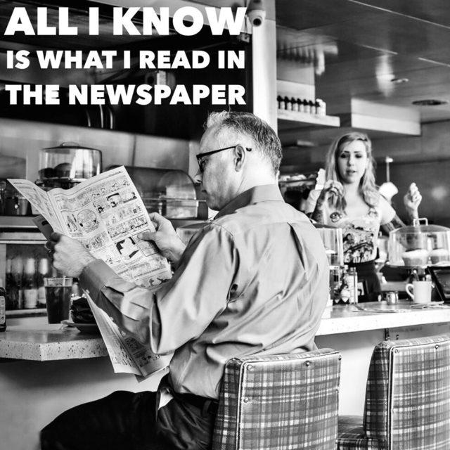 , 'Newspaper Man,' , Paul Fisher Gallery