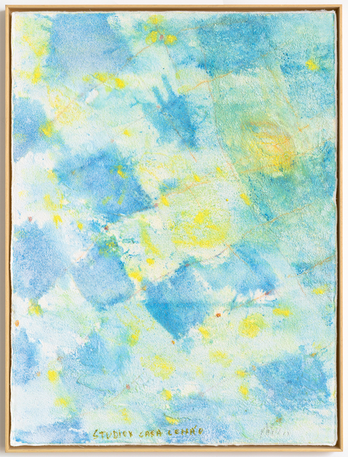 """, 'Untitled, from """"Muitos estudos para uma casa de limão"""" series,' 2018, Repetto Gallery"""