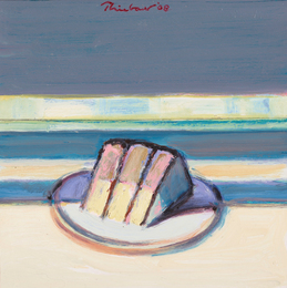 Wayne Thiebaud, 'Cased Slice,' 2008, Sotheby's: Contemporary Art Day Auction
