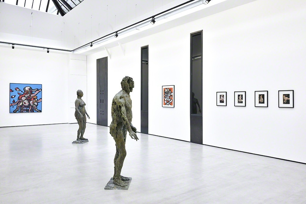 "Exhibition view of the duo show ""Maryan / Germaine Richier"". © Photo: Rebecca Fanuele."