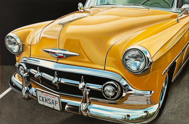 , 'Yellow Chevy,' 2013, Bernarducci Gallery