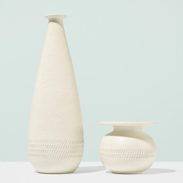 Hermès, 'Vases, set of two', c. 2000, Wright