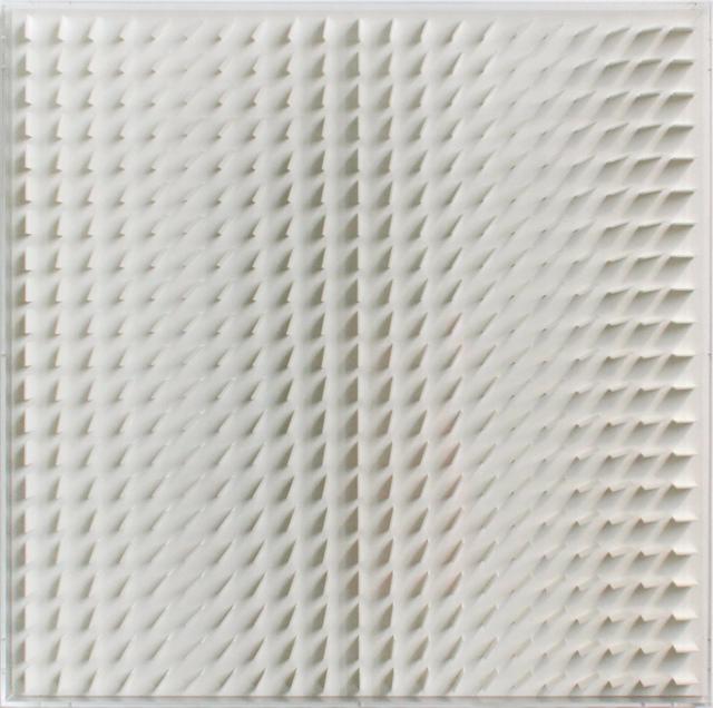 Hartmut Böhm, 'Quadratrelief 69', 1966/70, Painting, Plexiglass, PANARTE